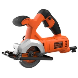 Black and Decker - 400W Kompakt mini cirkelsg 85mm inklusive 2 sgklingor - BES510