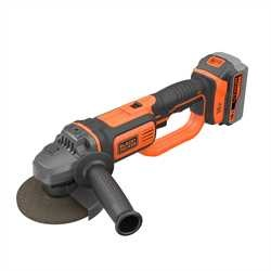 Black and Decker - 18V 40Ah Liion sladdls vinkelslip - BCG720M1