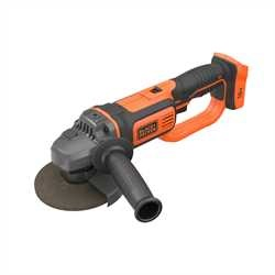 Black and Decker - 18V Liion sladdls vinkelslip utan batteri och laddare - BCG720N