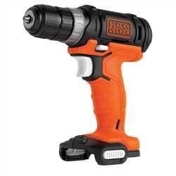 Black and Decker - 12V USB laddningsbar borrskruvdragare utan batteri - BDCDD12USB