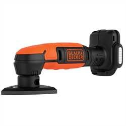 Black and Decker - 12V USBladdningsbar slipmus utan batteri - BDCDS12N