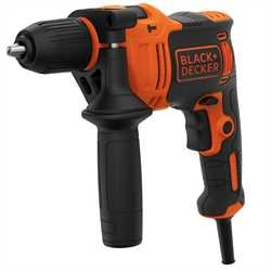 Black and Decker - 710W 1 Gear Hammer Drill - BEH710