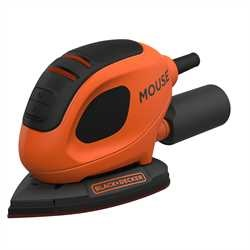 Black and Decker - 55W Mouse detaljslip  6 slipark - BEW230