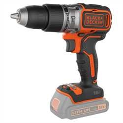 Black and Decker - 18V LiIon kolborstfri slagborrmaskin utan batteri - BL188N