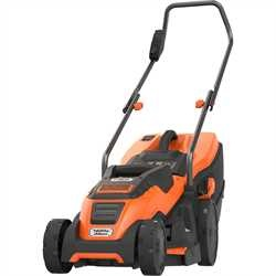 Black and Decker - Grsklippare 1400W 34cm med Compact  Go - EMAX34I