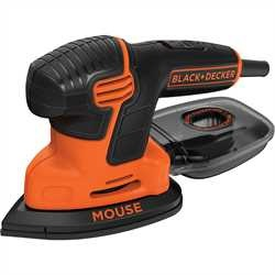 Black and Decker - 120W slipmus Mouse i mjuk vska - KA2000