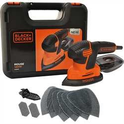 Black and Decker - 120W slipmus Mouse i hrd vska - KA2500K