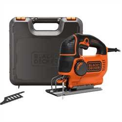 Black And Decker - 620W pendelsticksg med variabel hastighet Inkl vska och 2 blad - KS901PEK