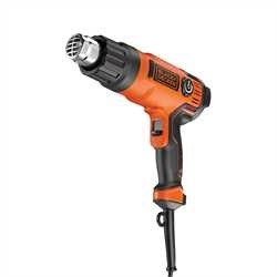 Black and Decker - Varmluftspistol 2000W  8 st tillbehr - KX2200K