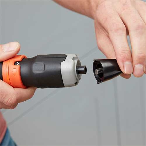 Black and Decker - 6V Alkaline skrudragare - BCF601C