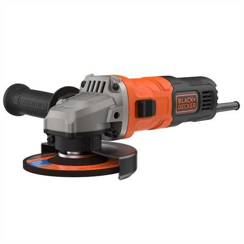 Black and Decker - 710W 115mm vinkelslip - BEG010K