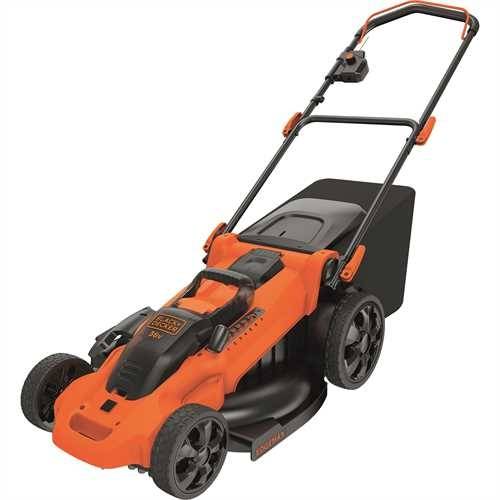 Black and Decker - Autosense grsklippare 36V 48CM  med 2 batterier - CLMA4820L2