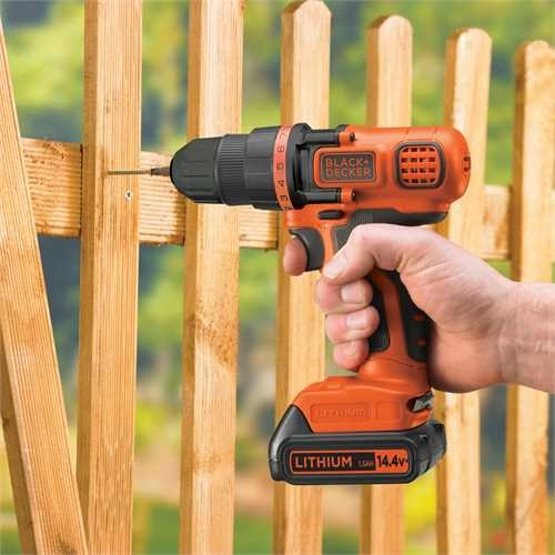 Black and Decker - 144V LiIon Borrmaskinskruvdragare - EGBL14KB