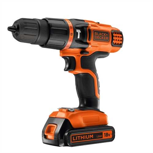 Black and Decker - 18V LiIon Slagborrmaskin - EGBL188K