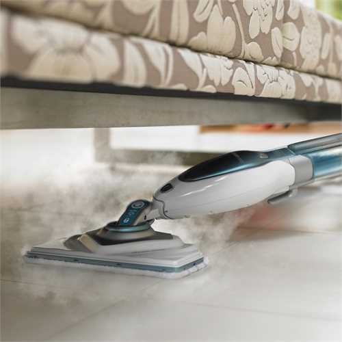 Black and Decker - Steam Mop Deluxe AutoSelect - FSM1630