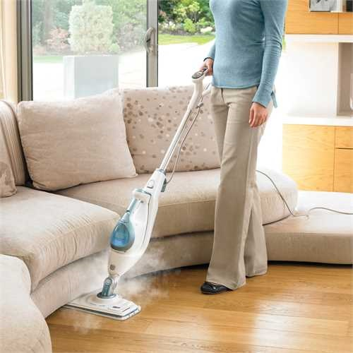 Black and Decker - Steammop Deluxe 2i1 med doftmunstycke - FSMH1621S