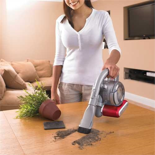 Black and Decker - 108V LithiumIon Dustbuster Flexibel handdammsugare - PD1020L