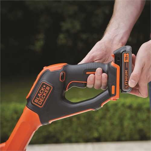 Black and Decker - Grstrimmer Power Command Easy Feed 18V 28cm - STC1820EPC