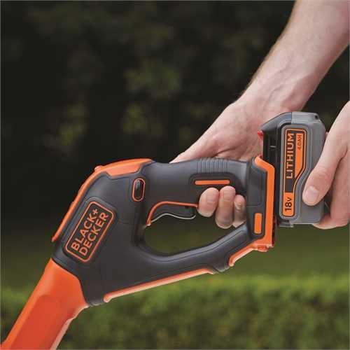 Black and Decker - Grstrimmer Power Command 18V 30CM 40Ah - STC1840EPC