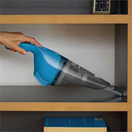 Black and Decker - 54Wh Wet and Dry LiIon Dustbuster sladdls handammsugare - WDB115WA